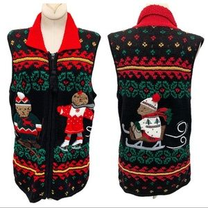 Sharon Young Christmas's Novelty Sweater Vest